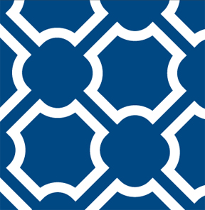 Trellis Blue