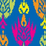 Ikat Multi Blue