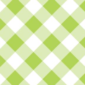 Gingham Lime