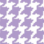 Houndstooth Lilac